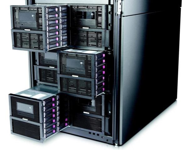 HP ExSD9100, almacenamiento para grandes empresas