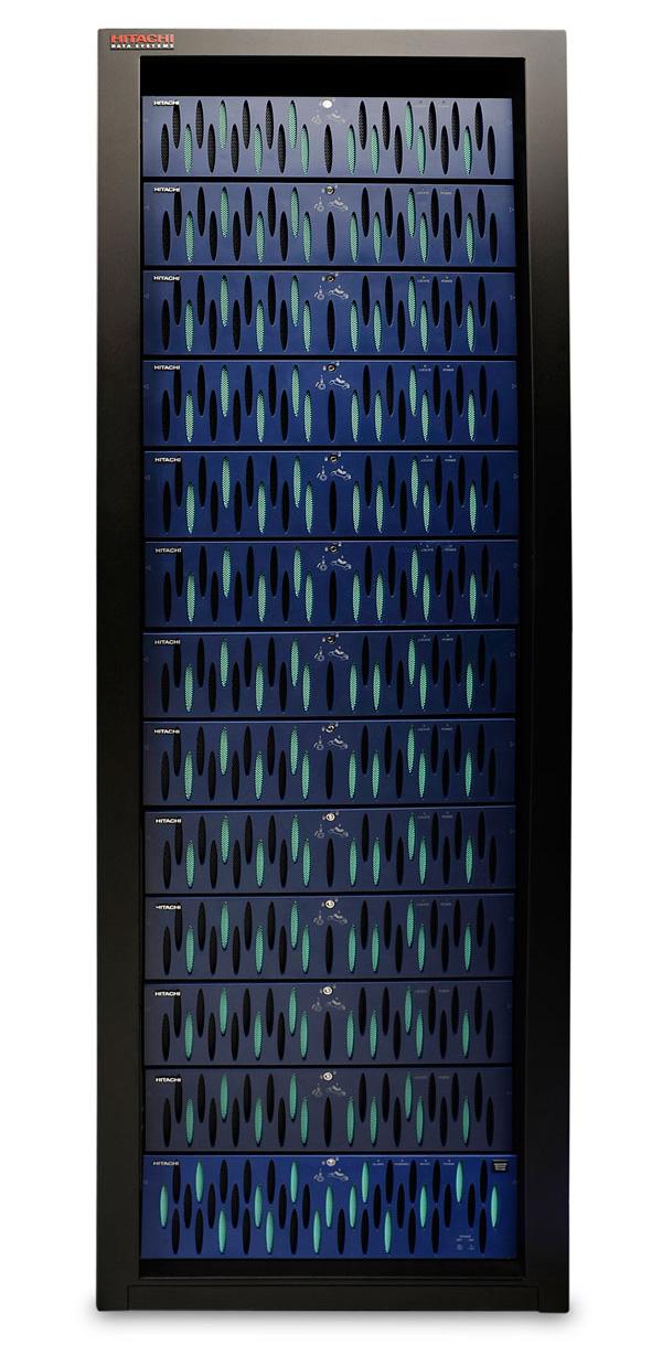 Hitachi Data Systems Adaptable Modular Storage 2000, servidores de altas prestaciones