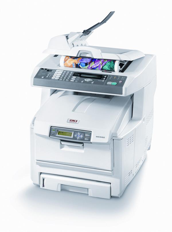 OKI MC560, sistema multifunción color y monocromo con tecnología LED