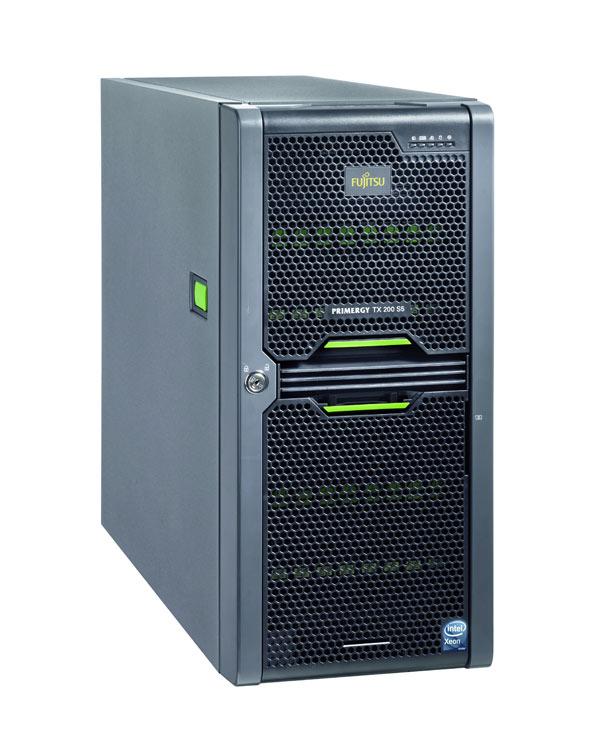 Fujitsu PRIMERGY TX200 S5, servidor económico y de alto rendimiento para la empresa