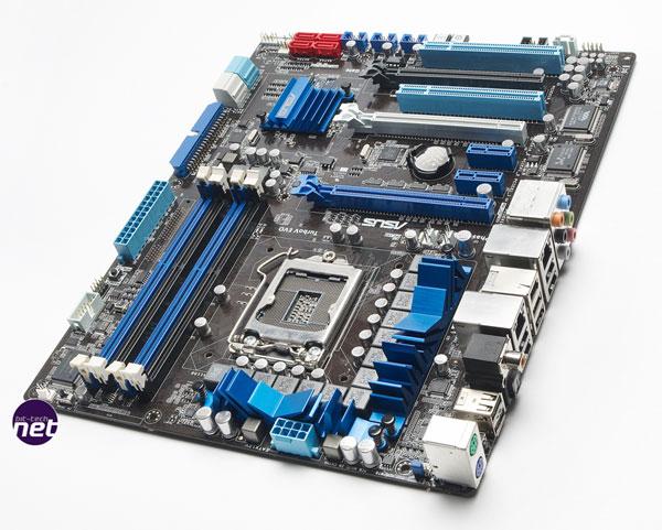 Asus P7P55D, nuevas placas base más eficientes y fiables