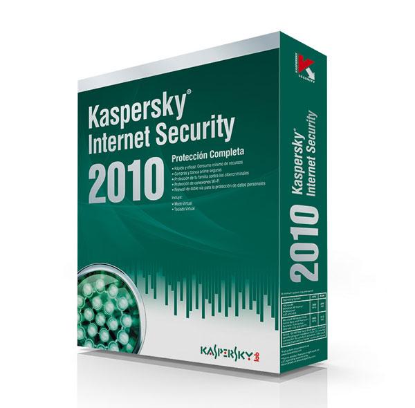 Kaspersky Internet Security 2010, protección total ante amenazas en Internet