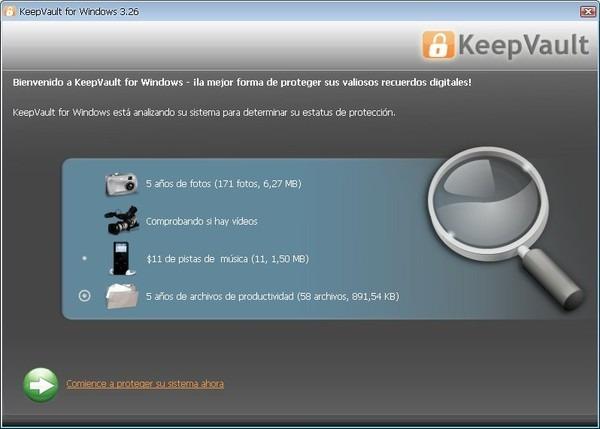KeepVault, servicio de backup online económico con 40 GB de capacidad