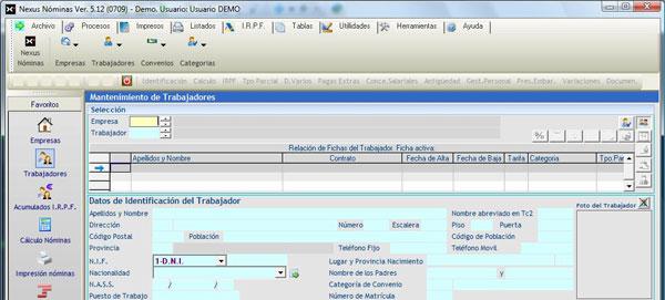Nexus, un programa para la gestión completa del personal (Recursos Humanos)