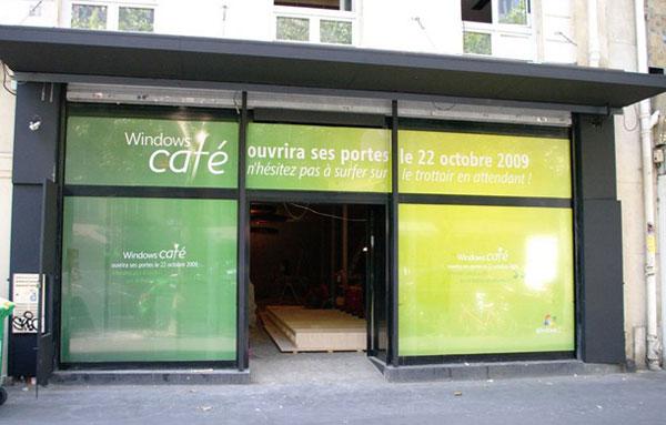 Windows Café, una forma distinta de probar nuevos productos