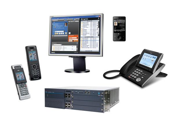 NEC Philips Unified Solutions Univerge SV8500, nueva plataforma Full IP