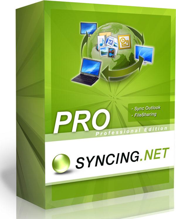 SYNCING.NET Professional 2.7, sincronización de datos entre ordenadores