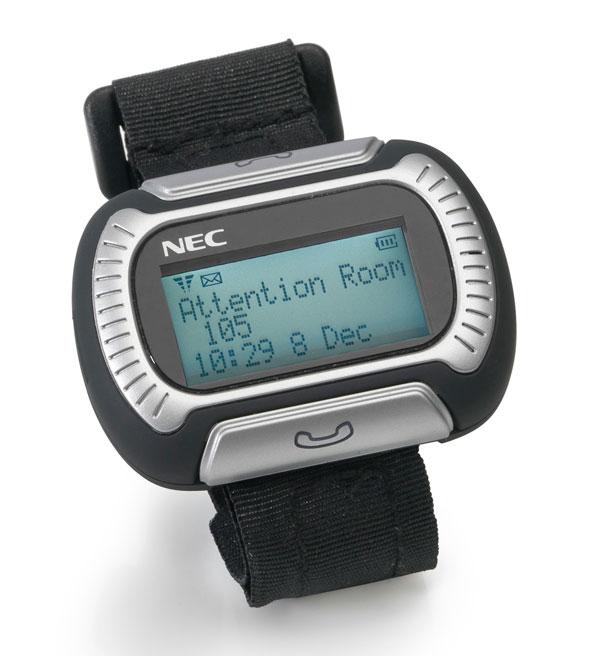 NEC Philips M155 Messenger, comunicador personal a modo de reloj