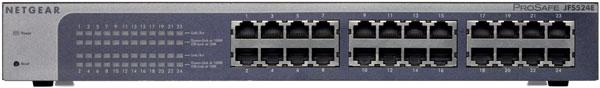 Netgear ProSafe FS116E, JFS524E y GS105E, switches económicos para redes medianas