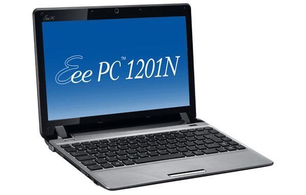 Asus Eee PC 1201N, a medio camino entre el netbook y el portátil