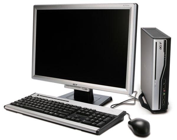 Acer veriton l460 ordenador de sobremesa ultrapeque o con for Ordenadores para oficina