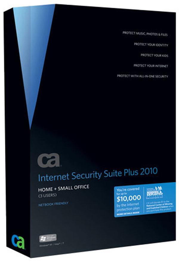 CA Internet Security Suite Plus 2010, herramienta de seguridad y protección de datos