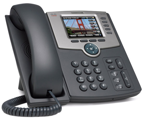 Cisco SPA 525G, teléfono IP con altas medidas de seguridad