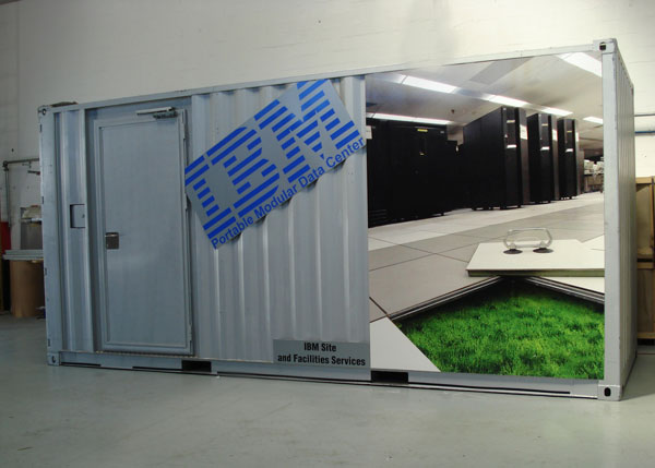 IBM Portable Modular Data Center, un centro de datos portable en un contenedor