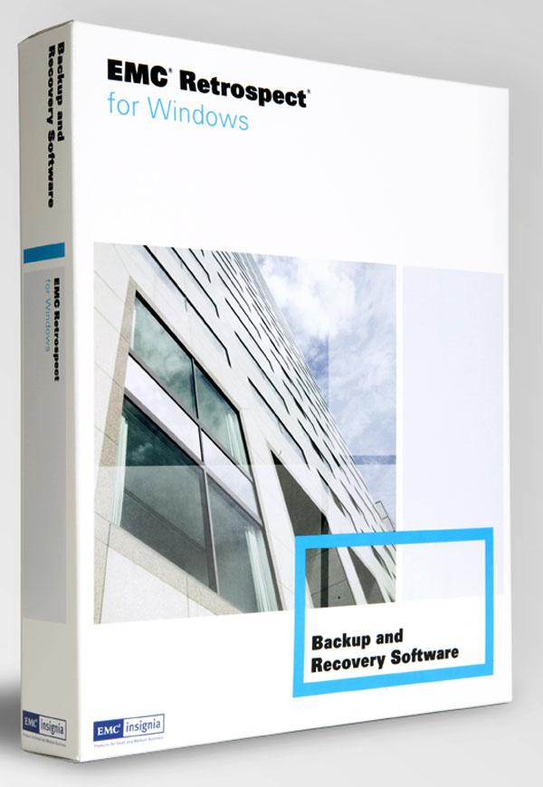 EMC Retrospect 7.7, nueva actualización del software de recuperación y copias de seguridad