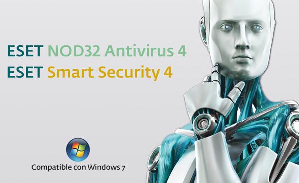ESET NOD32 Antivirus 4 y ESET Smart Security 4, ya cuentan con certificación Windows 7