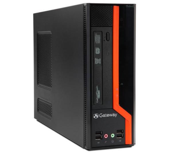 Gateway DS10, estación de trabajo de altas prestaciones con factor de forma reducido