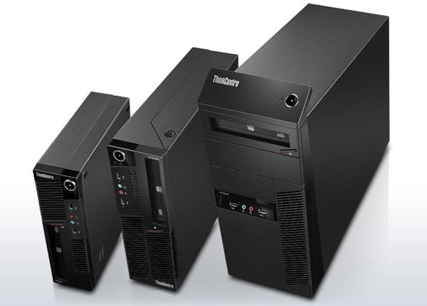 Lenovo ThinkCentre M90 y M90p, ordenadores de sobremesa con múltiples factores de forma