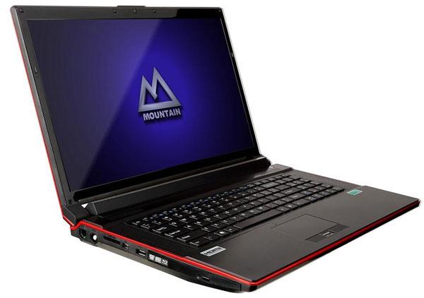 MOUNTAIN Studio3D i7M, portátil de alto rendimiento para diseño gráfico