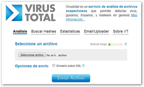 Virus Total, un servicio online para analizar y detectar virus