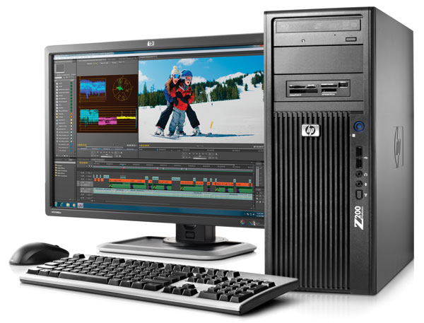 HP Z200 Workstation, estación de trabajo asequible con nueva gama de procesadores