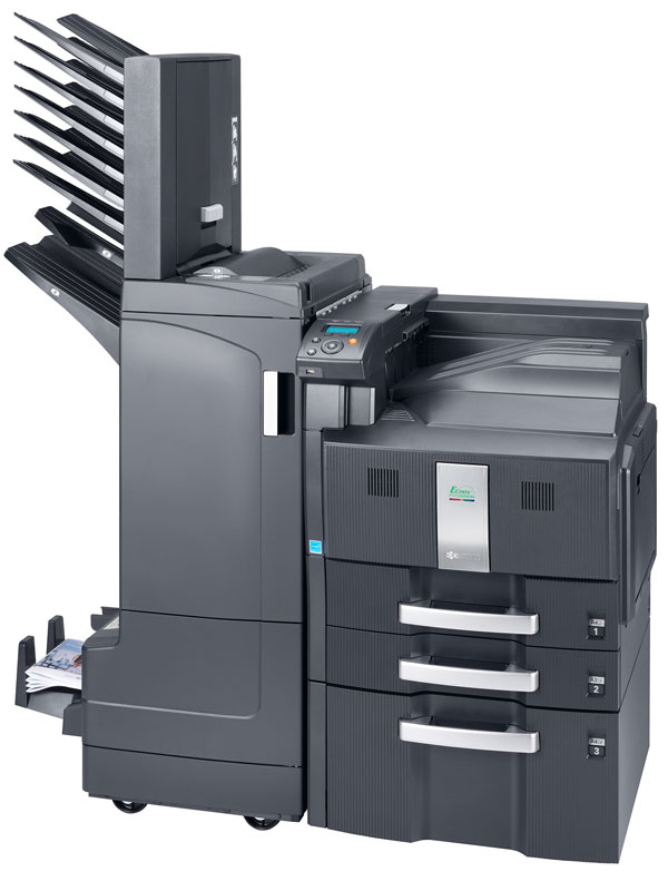 Kyocera FS-C8500DN, impresión láser color de calidad, rápida y segura