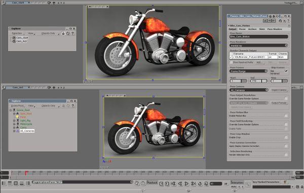 Autodesk softimage 2011 animaci n mejorada en el programa - Programas para 3d ...