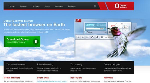 Opera, Microsoft ayuda a triplicar en España las descargas del navegador rival