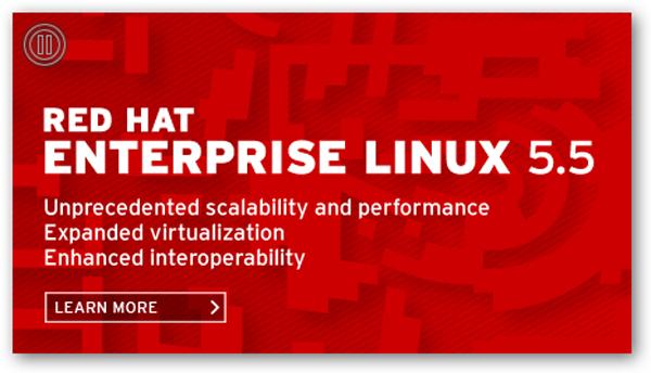 Red Hat Enterprise Linux 5.5, nueva actualización de la plataforma