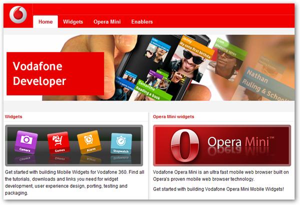 Vodafone 360 permite a los programadores crear y vender aplicaciones a través de Jil.org