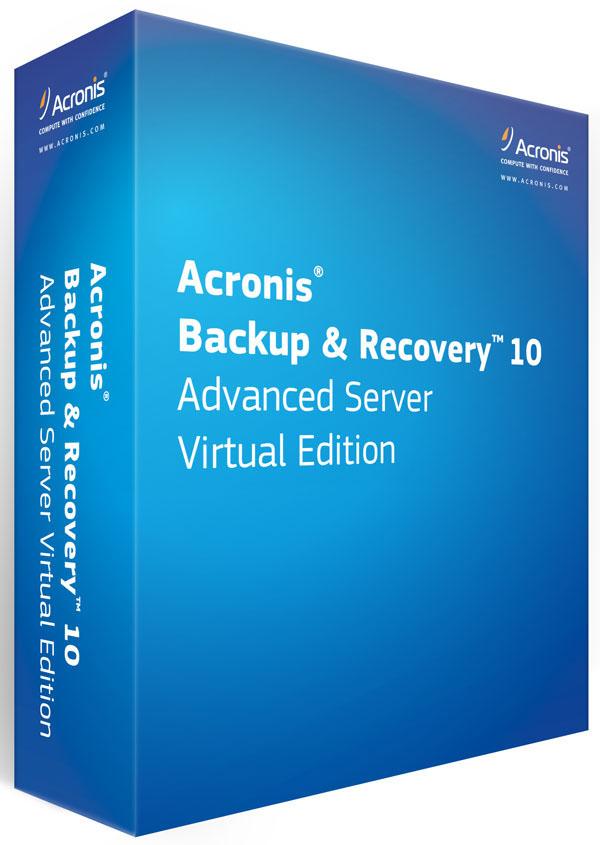 Acronis Backup & Recovery 10, recuperación de catástrofes en entornos virtualizados