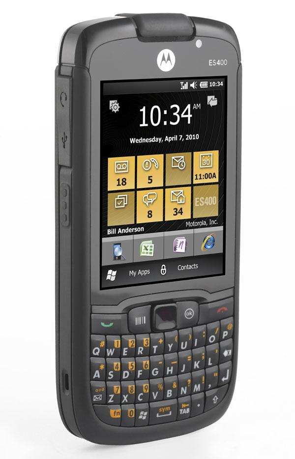 Motorola ES400, más que un móvil, un completo ayudante digital empresarial
