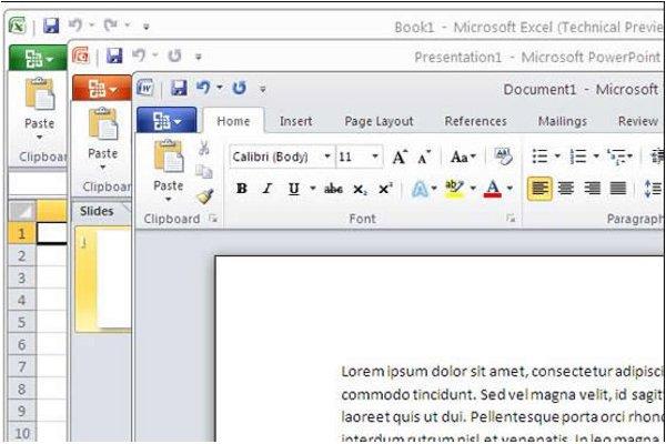 Office 2010, ya está disponible para empresas la nueva herramienta de ofimática