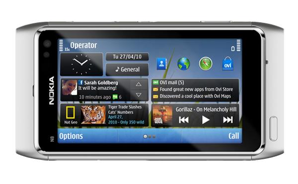 Nokia N8, el Smartphone que quiere rivalizar con el iPhone