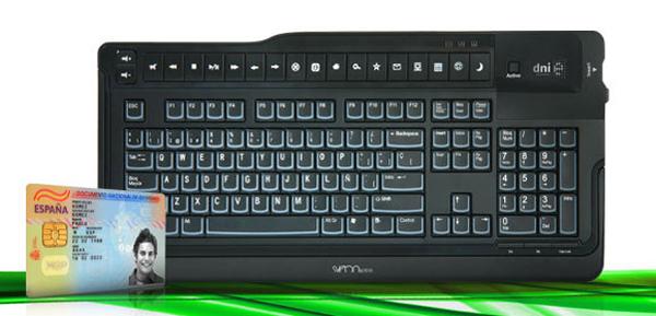 SCT018 de Sveon, teclado con lector de DNIe y Smart Cards de tacto suave