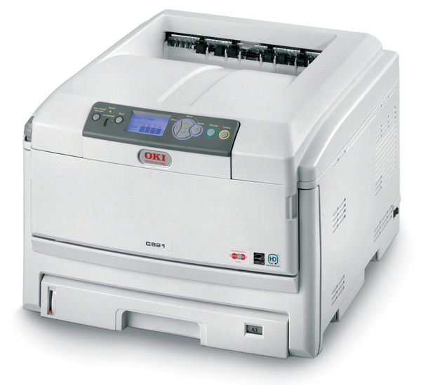 OKI C821, impresora láser color para Pymes con impresión en dúplex