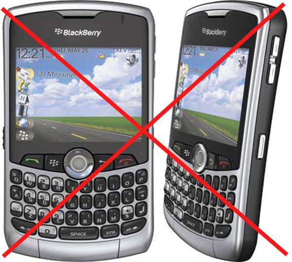 Blackberry, India amenaza con prohibir las Blackberry