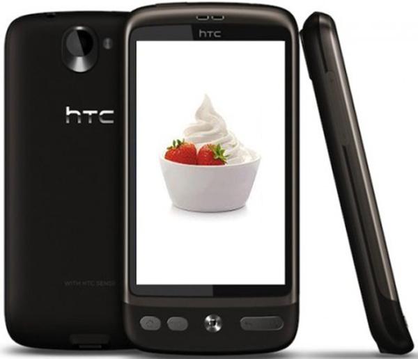 HTC Desire con Android Froyo, HTC actualiza su terminal a la última versión de Android