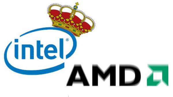 Intel, AMD, el mercado de los microprocesadores ha crecido un 19% en lo que va de año