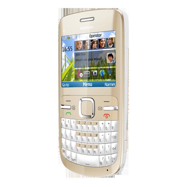 Nokia C3, móvil económico de Nokia con teclado QWERTY y acceso rápido a Facebook y Twitter