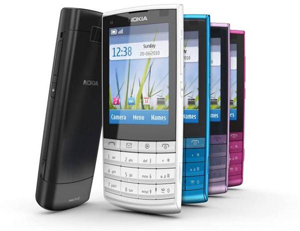 Nokia X3-02, un móvil estilo tradicional con pantalla táctil