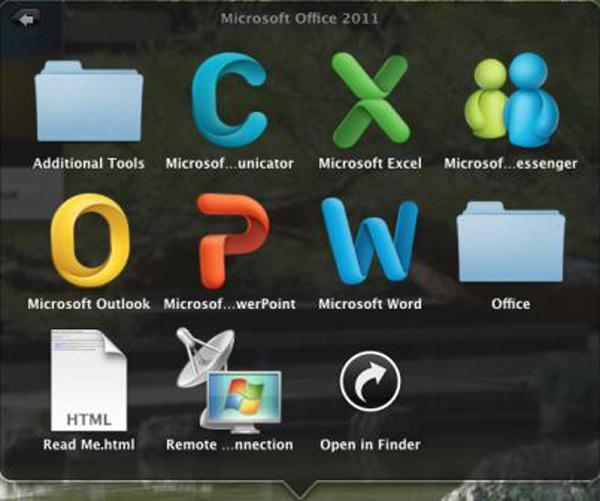 Microsoft Office 2011 para Mac, en octubre con mejoras en la interfaz y el trabajo en red