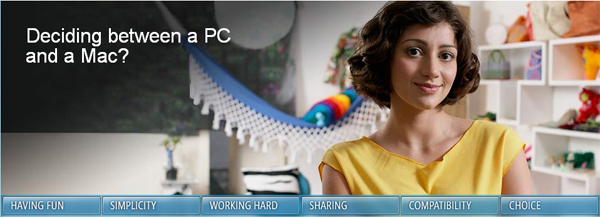 PC vs Mac, Microsoft intenta disuadir a los usuarios de dar el salto al Mac en su página oficial