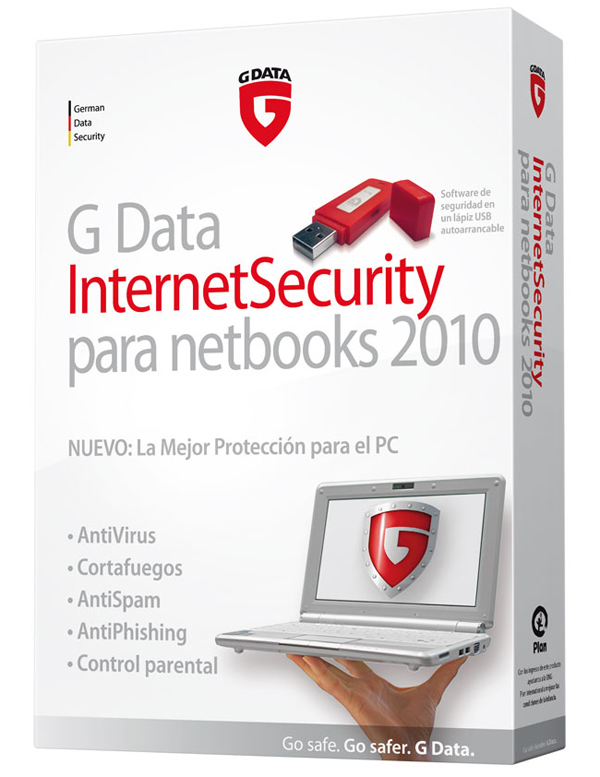 G-Data InternetSecurity 2011 e InternetSecurity para Netbooks 2011, navega de forma segura