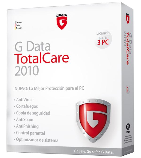 G-Data TotalCare 2011, protección completa contra virus y amenazas para ordenadores