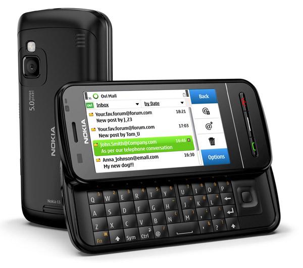 Nokia C6, móvil de Nokia asequible con pantalla táctil y teclado completo