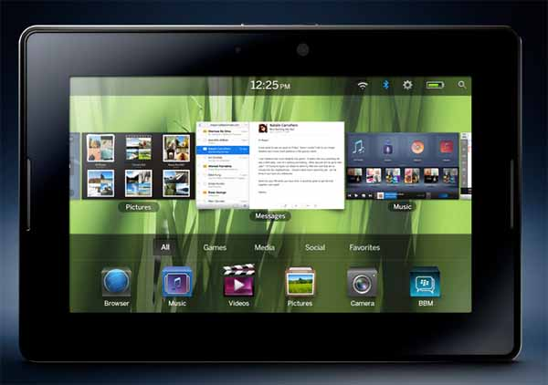 "Blackberry PlayBook, BlackBerry anuncia su tablet de 7"" orientado al mundo profesional"
