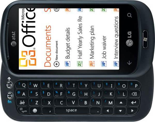 LG Optimus 7Q, móvil con Windows Phone 7 y teclado deslizable