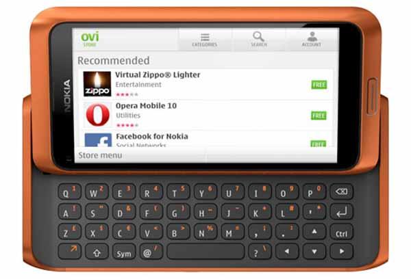 Nokia, la OVI tienda registra ya 2,3 millones de descargas diarias