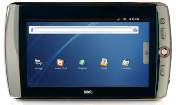 booq Verne, un e-book con funciones de tablet de Mundo Reader